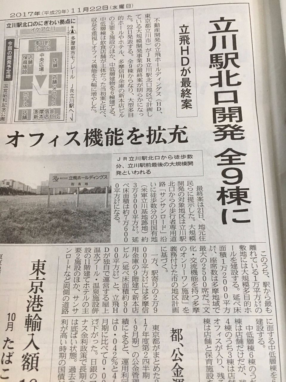 立川駅北口に!!